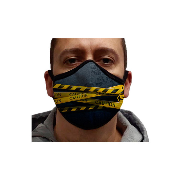 Mascarilla Personalizada CAUTION
